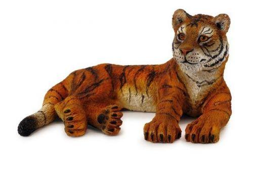 Mac Toys Tygr mládě ležící 8 cm cena od 59 Kč
