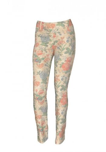 Asad Paulo Connerti Jeans Flowers T-940 kalhoty
