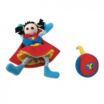Yookidoo Chrastítko Superholka cena od 181 Kč