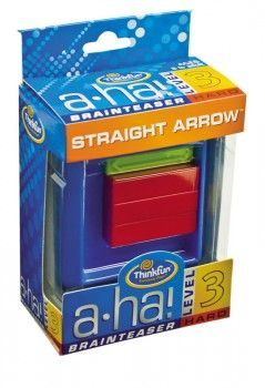 ThinkFun Aha! Straight Arrow