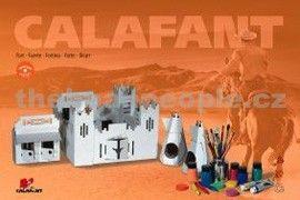 Calafant Kartonový model Westernová tvrz