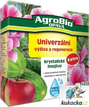 AgroBio Krystalické hnojivo AgroBio Extra Univerzální výživa 400 g