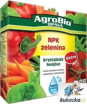 AgroBio Krystalické hnojivo AgroBio Extra NPK Zelenina 400 g