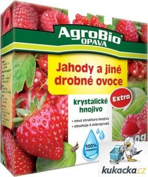 AgroBio Krystalické hnojivo AgroBio Extra Jahody 400 g