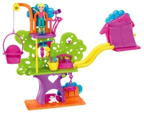 MATTEL Polly Pocket Stromečkový dům sada na zeď Y7113 cena od 572 Kč