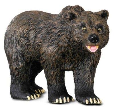 Mac Toys Medvěd grizzly 10 cm cena od 95 Kč