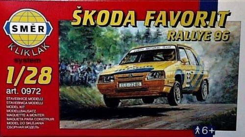 SMĚR Škoda Favorit Rallye 96 1:28 cena od 89 Kč
