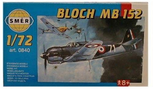 SMĚR Bloch MB 152 1:72 cena od 77 Kč