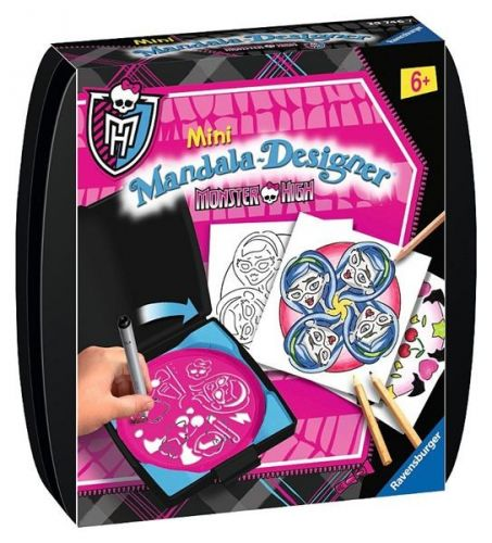 Ravensburger Mini Mandala Monster High cena od 0 Kč
