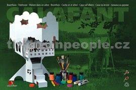Calafant Kartonový model Domek na stromě