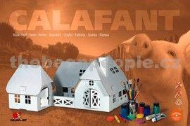 Calafant Kartonový model Farma velká