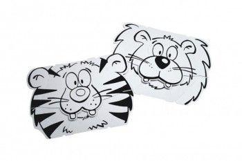 Calafant CALALINOS Masky z kartonu Lev + Tygr