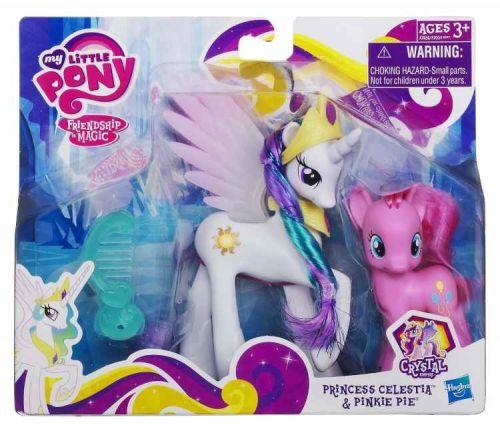 HASBRO MLP My Little Pony Princezna Celestia s kamarádkou Pinkie Pie