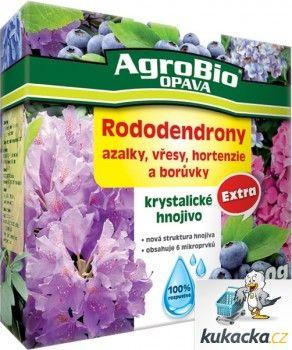 AgroBio Krystalické hnojivo AgroBio Extra Rododendrony 400 g