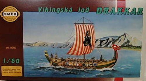 SMĚR Vikingská loď DRAKKAR 1:60 cena od 109 Kč