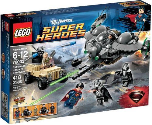 Lego Super Heroes SuperMan Battle of Smallville 76003 cena od 1221 Kč