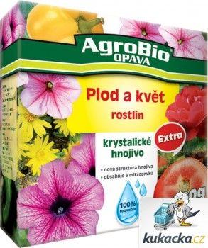 AgroBio Krystalické hnojivo AgroBio Extra Plod a květ 400 g