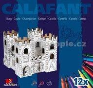 Calafant Kartonový model Dračí hrad