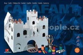 Calafant Kartonový model Hrad