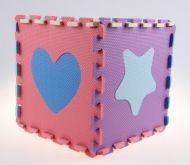 Alltoys Pěnová podložka - pěnové puzzle tvary - 10 ks cena od 175 Kč