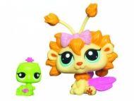 Hasbro Littlest Pet Shop Okouzlující víla Pampelišková víla a červík 2608 a 2609 cena od 0 Kč