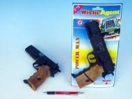 "Teddies Kapslovka Powerman 22cm ""8"" na kartě"