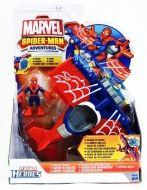 Hasbro Spiderman Heroes figurka s dopravním prostředkem letadlo cena od 371 Kč