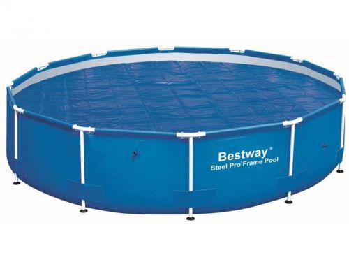 Bestway Solární plachta na bazén s konstrukcí 457 cm