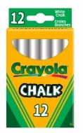 Crayola bílé křídy AntiDust 12 ks cena od 29 Kč