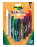 Crayola třpytky s lepidlem 9 ks cena od 129 Kč
