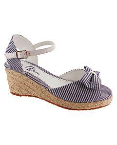 Baťa Dívčí sandály na platformě 369-9554