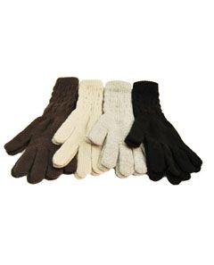 Baťa Dámské pletené rukavice 909-0641
