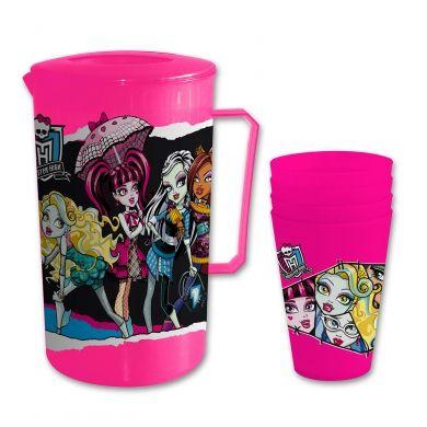 P:OS Handels Monster High džbánek na džus a 4 sklenice cena od 127 Kč