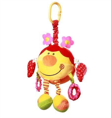 Baby ONO Velurová hračka Beruška cena od 0 Kč