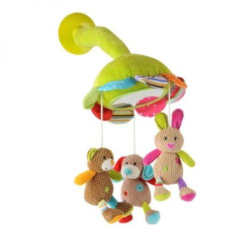 Baby ONO Velurová hračka s přísavkou na sklo cena od 0 Kč