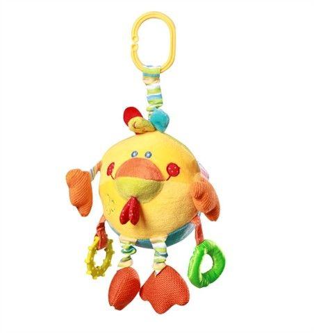 Baby ONO Velurová hračka Kuřátko cena od 0 Kč