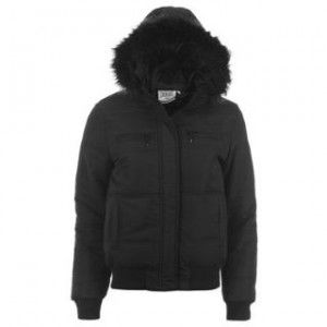 Everlast Fur Hood Bomber Ladies bunda