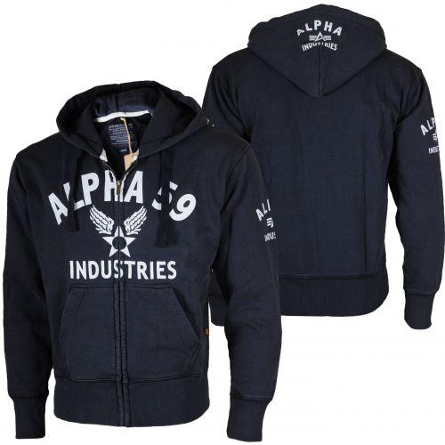 Alpha Industries Alpha 59 Print Zip Hoody mikina