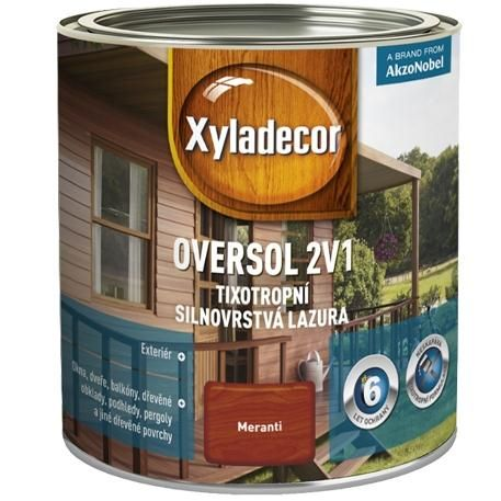 Xyladecor Oversol 2v1 2,50 l