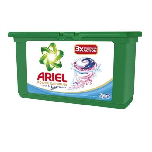 Ariel Touch of Lenor tekuté tablety 38 ks