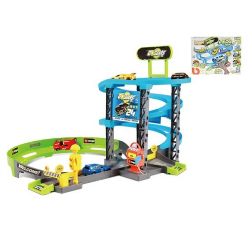Mikro hračky Bburago 1:55 Go Gear 63x53x40cm cena od 699 Kč