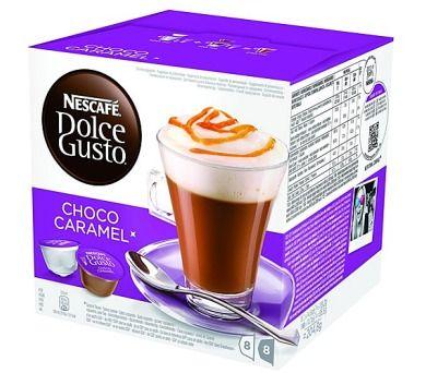 NESCAFÉ Dolce Gusto Choco Caramel 16 ks cena od 0 Kč