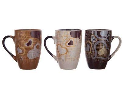 BANQUET Hrnek Coffee Lovers 3 assorted cena od 48 Kč