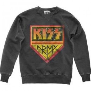 amplified Kiss Army mikina