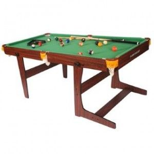 Dunlop 6ft Folding Pool Table