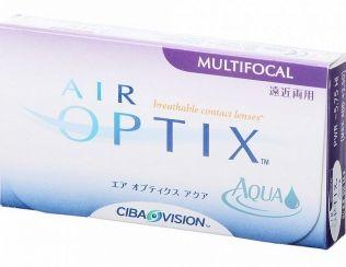 Ciba Vision Air Optix aqua multifocal (3 čočky) cena od 599 Kč