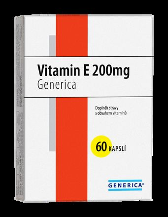 Generica Vitamin E 200 mg 60 tablet