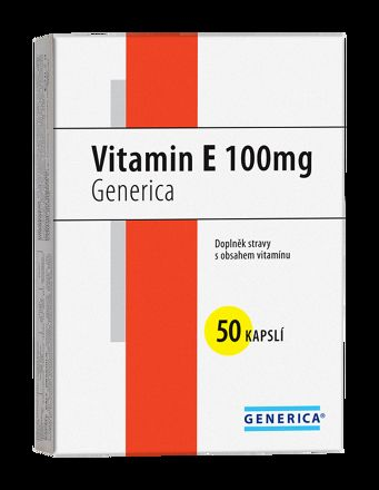Generica Vitamin E 100 mg 50 tablet