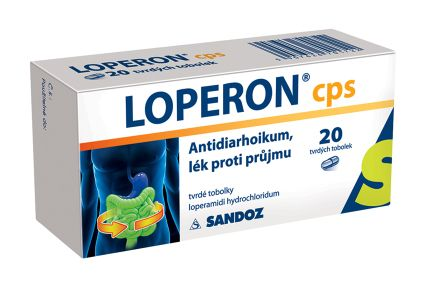 Loperon 2 mg 20 tobolek cena od 98 Kč