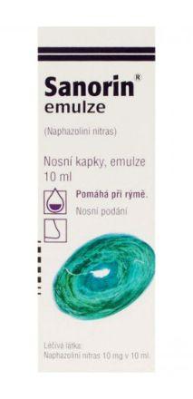 Sanorin eml. 0.1% 10 ml cena od 59 Kč